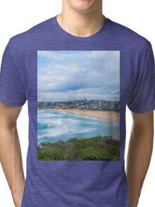 South Curl Curl Beach Sydney Australia Tri-blend T-Shirt