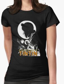 tintin adventures Womens Fitted T-Shirt