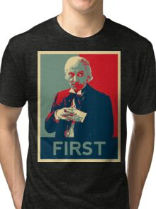 First doctor - Fairey's style Tri-blend T-Shirt