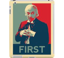First doctor - Fairey's style iPad Case/Skin