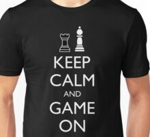 KEEP CALM AND GAME ON - Chess Unisex T-Shirt