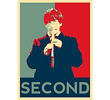 Second doctor - Fairey's style Photographic Print