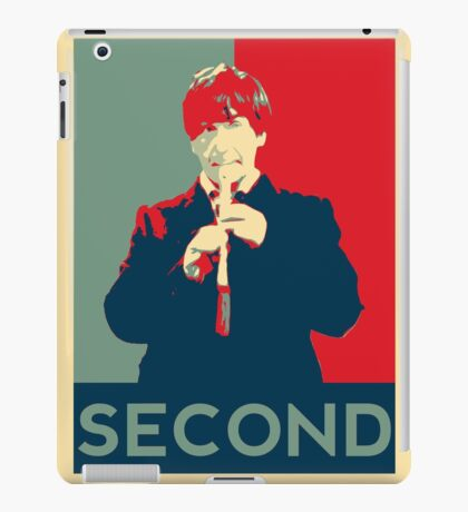 Second doctor - Fairey's style iPad Case/Skin