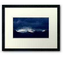 The Mountains...........France Framed Print