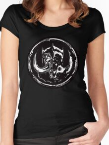 Evil & Evil Women's Fitted Scoop T-Shirt