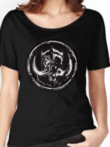 Evil & Evil Women's Relaxed Fit T-Shirt