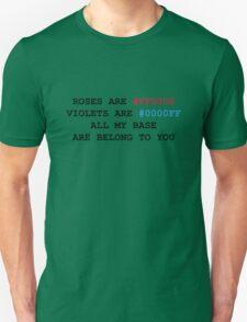 NERD HUMOR: Love letter T-Shirt