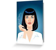 Mia Wallace Greeting Card