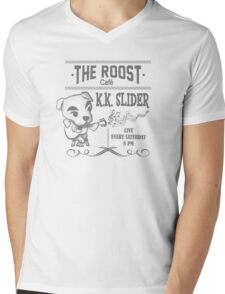K.K. Slider Animal Crossing T-Shirt Mens V-Neck T-Shirt
