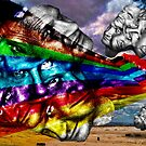 When Color Wanders the Desert by GolemAura
