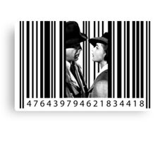 Inside a Barcode Canvas Print