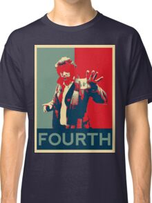Fourth doctor - Fairey's style Classic T-Shirt