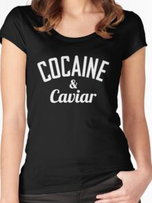 Cocaine & Caviar Women's Fitted Scoop T-Shirt