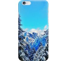 Blue Mountain Scene iPhone Case/Skin