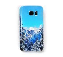 Blue Mountain Scene Samsung Galaxy Case/Skin