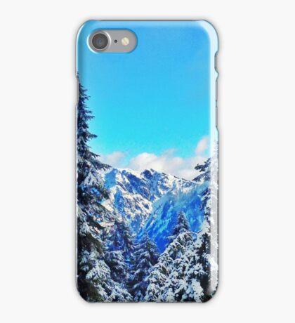 Blue Mountain Scene iPhone Case/Skin