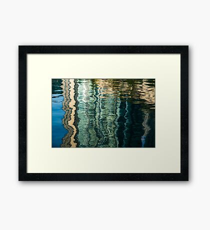 Mesmerizing Abstract Reflections Seventeen Framed Print