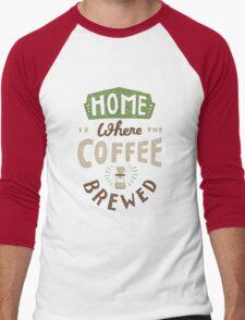 Home Men's Baseball ¾ T-Shirt