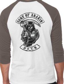 Sons of Anakin - starwars inspired biker patch Men's Baseball ¾ T-Shirt