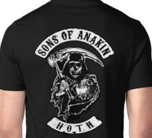 Sons of Anakin - starwars inspired biker patch Unisex T-Shirt