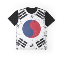 Flag of South Korea Graphic T-Shirt