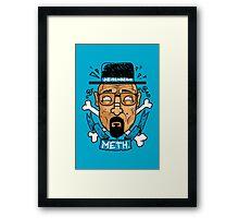 Heisenberg Meth Framed Print