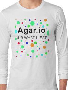 Agar.io U R WHAT U EAT Long Sleeve T-Shirt