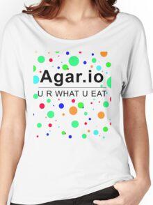 Agar.io U R WHAT U EAT Women's Relaxed Fit T-Shirt
