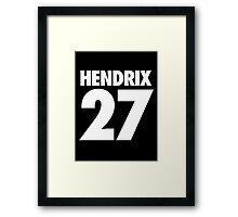 HENDRIX - 27 - Alternate Framed Print