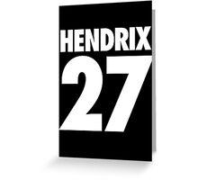 HENDRIX - 27 - Alternate Greeting Card
