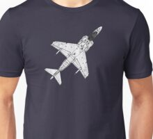 AVB 8 Harrier Fighter Plane Unisex T-Shirt