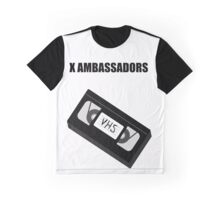 X Ambassadors - VHS Graphic T-Shirt