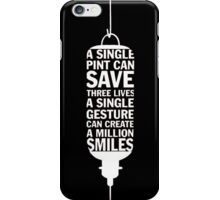 A Single Pint [Enjoy Your Beer] iPhone Case/Skin