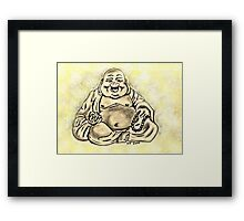 Buddha For Peace Framed Print