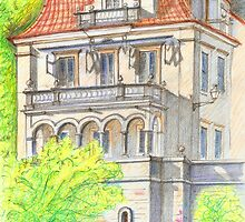Palacete na Cruz Quebrada. Palace by terezadelpilar~ art & architecture