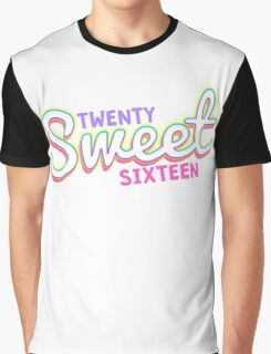 Twenty Sweet Sixteen (pink and purple edition) Graphic T-Shirt