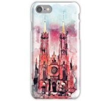 Gothic revival church in Zyrardow iPhone Case/Skin