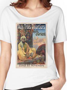 Vintage poster - Aux Trois Quartiers Women's Relaxed Fit T-Shirt