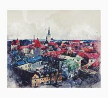 Tallinn Old Town One Piece - Short Sleeve