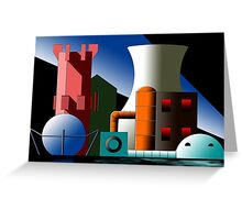 Industry 17 Greeting Card