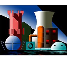 Industry 17 Photographic Print