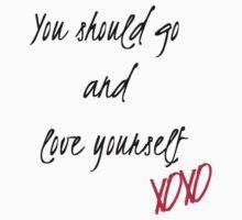 Love Yourself Lyrics  by qu1rky
