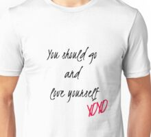 Love Yourself Lyrics  Unisex T-Shirt