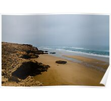 A beach of the coastline between Agadir and Essaouira Poster
