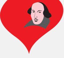 Shakespeare in love Sticker