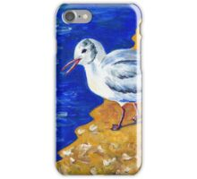 Seagull at the Baltic Sea iPhone Case/Skin