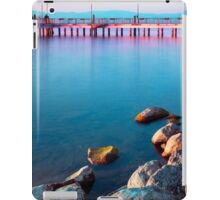 Calm Lake At Sunset iPad Case/Skin