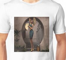 Oriental Fan Dancer     Unisex T-Shirt