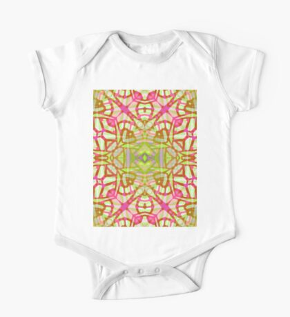 Fractal Art Stained Glass One Piece - Short Sleeve