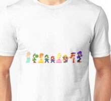 mario and the gang Unisex T-Shirt